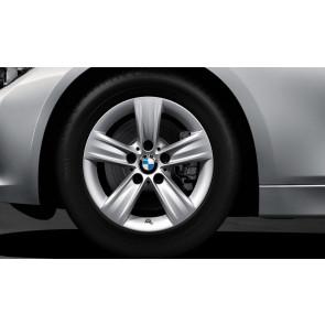 BMW Winterkompletträder Sternspeiche 391 reflexsilber 16 Zoll 3er F30 F31 4er F32 F33 F36 RDCi