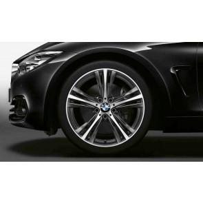 BMW Alufelge Sternspeiche 407 orbitgrey 8J x 19 ET 36 Vorderachse 3er F30 F31 4er F32 F33 F36