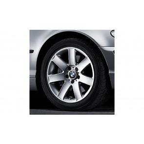 BMW Alufelge Sternspeiche 44 silber 8J x 17 ET 47 Vorderachse/Hinterachse BMW 3er E46