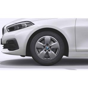 BMW Winterkompletträder Sternspeiche 517 ferricgrey 16 Zoll 1er F40 2er F44 RDCi