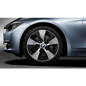 BMW Alufelge Streamline 419 8J x 18 ET 34 Bicolor (Orbitgrey / glanzgedreht) Vorderachse / Hinterachse (linke Fahrzeugseite) BMW 3er F30 F31 4er F32 F33 F36
