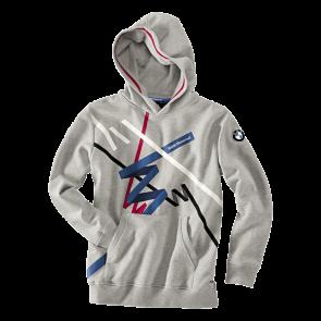 BMW Sweatshirt Logo, Kinder, hellgrau-melange