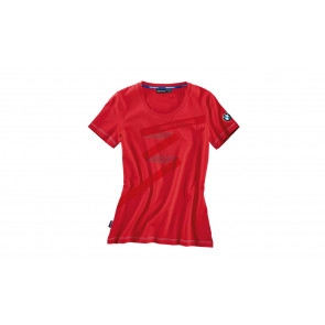 BMW T-Shirt Logo, Damen, rot