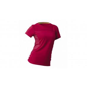 BMW T-Shirt Ride für Damen, koralle/dunkelrot