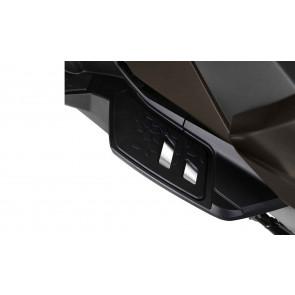 BMW Trittbretteinsatz verchromt hinten K19