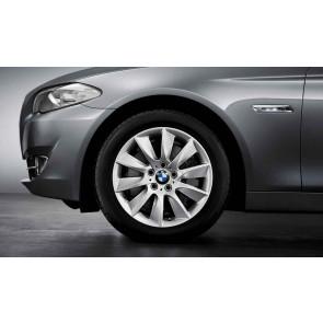 BMW Kompletträder Turbinenstyling 329 silber 18 Zoll 5er F10 F11 6er F06 F12 F13
