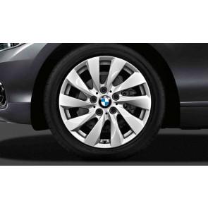 BMW Alufelge Turbinenstyling 381 reflexsilber 7,5J x 17 ET 43 Vorderachse / Hinterachse 1er F20 F21 2er F22 F23