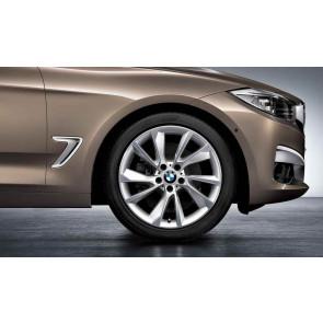 BMW Alufelge Turbinenstyling 389 9J x 19 ET 42 Bicolor (Spacegrau / glanzgedreht) Hinterachse BMW 3er F34 GT