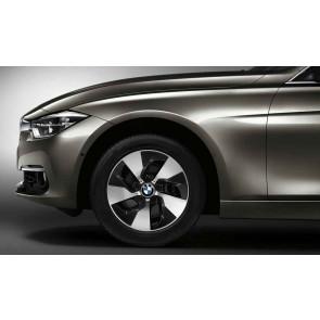 BMW Alufelge Turbinenstyling 406 orbitgrey 7J x 16 ET 40 Vorderachse / Hinterachse BMW 1er F20 F21 2er F22 F23