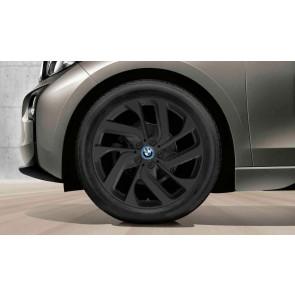 BMW Alufelge Turbinenstyling 428 schwarz 5J x 19 ET 28 Vorderachse / Hinterachse i3