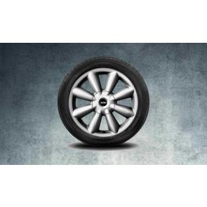 MINI Alufelge Turbo Fan R126 7,5J x 18 ET 52 Silber Vorderachse / Hinterachse MINI R60 R61