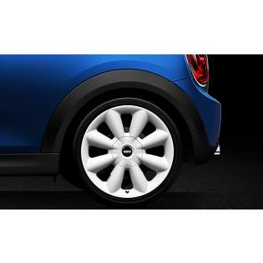 MINI Alufelge Turbo Fan R126 7,5J x 18 ET 52 Weiß Vorderachse / Hinterachse MINI R60 R61