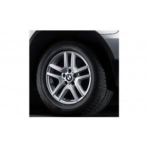 BMW Alufelge V-Speiche 130 7,5J x 17 ET 40 Silber Vorderachse / Hinterachse BMW X5 E53