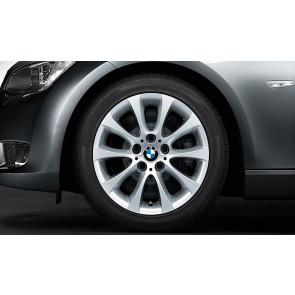 BMW Kompletträder V-Speiche 188 reflexsilber 17 Zoll 3er E90 E91 E92 E93