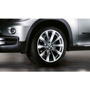 BMW Alufelge V-Speiche 239 silber 10J x 21 ET 40 Vorderachse X5 E70