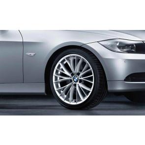 BMW Alufelge V-Speiche 342 8J x 18 ET 34 Silber Vorderachse BMW 3er E90 E91 E92 E93