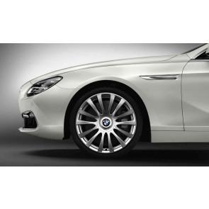 BMW Alufelge Individual V-Speiche 374 8,5J x 20 ET 33 Silber Vorderachse BMW 6er F06 F12 F13