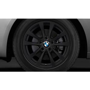 BMW Winterkompletträder V-Speiche 395 schwarz 17 Zoll 3er F30 F31 4er F32 F33 F36 RDCi