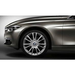 BMW Alufelge Individual V-Speiche 439 8J x 19 ET 36 Silber Vorderachse BMW 3er F30 F31 4er F32 F33 F36