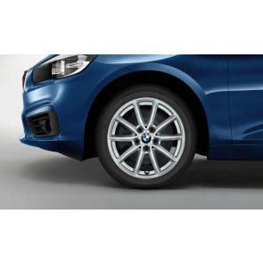 BMW Alufelge V-Speiche 471 reflexsilber 7J x 16 ET 52 Vorderachse / Hinterachse 2er F45 F46