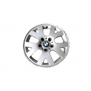 BMW Alufelge V-Speiche 54 6,5J x 15 ET 42 Silber Vorderachse / Hinterachse BMW 3er E46