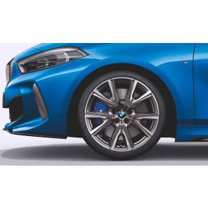 BMW Alufelge M Performance V-Speiche 557 ceriumgrey 8J x 19 ET 54 Vorderachse / Hinterachse 1er F40 2er F44