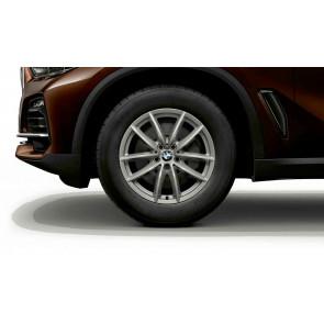 BMW Alufelge V-Speiche 618 reflexsilber 8,5J x 18 ET 44 Vorderachse / Hinterachse X5 G05 X6 G06
