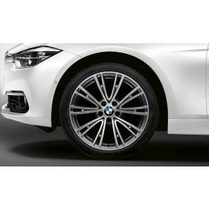 BMW Alufelge V-Speiche 626 ferricgrey 8J x 19 ET 36 Vorderachse 3er F30 F31 4er F32 F33 F36