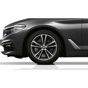 BMW Winterkompletträder V-Speiche 631 ferricgrey 17 Zoll 5er G30 G31 RDCi