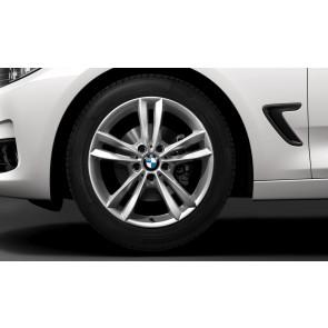 BMW Winterkompletträder V-Speiche 658 reflexsilber 18 Zoll 3er F34 RDCi