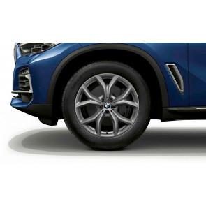 BMW Alufelge V-Speiche 735 ferricgrey 9J x 19 ET 38 Vorderachse / Hinterachse X5 G05 X6 G06