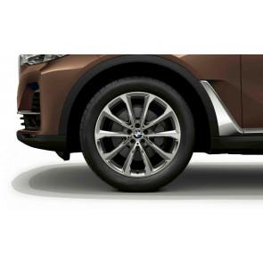 BMW Winterkompletträder V-Speiche 750 reflexsilber 20 Zoll X7 G07 RDCi