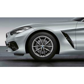 BMW Winterkompletträder V-Speiche 768 ferricgrey 17 Zoll Z4 G29 RDCi (Mischbereifung)