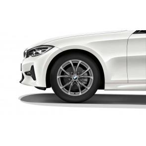 BMW Winterkompletträder V-Speiche 776 ferricgrey 17 Zoll 3er G20 G21 RDCi