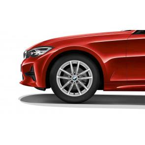BMW Winterkompletträder V-Speiche 778 reflexsilber 17 Zoll 3er G20 G21 RDCi