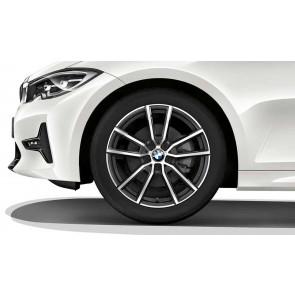 BMW Kompletträder V-Speiche 780 orbitgrey 18 Zoll 3er G20 G21 RDC