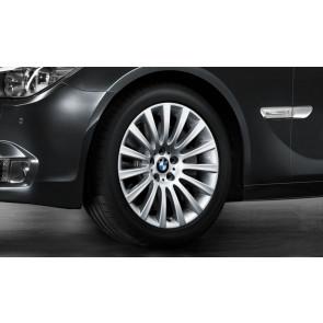 BMW Winterkompletträder Vielspeiche 235 reflexsilber 19 Zoll 5er F07 7er F01 F02 F04
