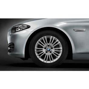 BMW Alufelge Vielspeiche 456 silber 8J x 17 ET 30 Vorderachse / Hinterachse 5er F10 F11 6er F06 F12 F13
