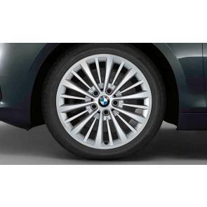 BMW Kompletträder Vielspeiche 481 reflexsilber 17 Zoll 2er F45 F46 RDCi