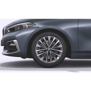 BMW Kompletträder Vielspeiche 547 ferricgrey 17 Zoll 2er F45 F46 RDCi