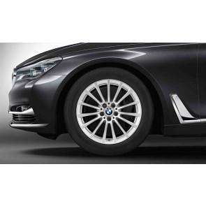 BMW Kompletträder Vielspeiche 619 silber 18 Zoll 5er G30 RDCi