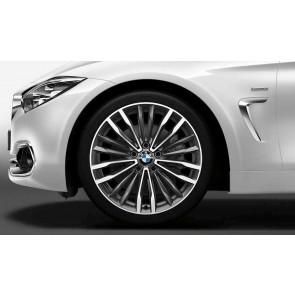 BMW Alufelge Vielspeiche 708 ferricgrey 8,5J x 19 ET 47 Hinterachse 3er F30 F31 4er F32 F33 F36