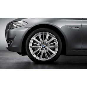 BMW Kompletträder W-Speiche 332 silber 19 Zoll 5er F11