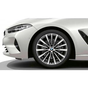 BMW Alufelge W-Speiche 731 ferricgrey 8J x 19 ET 26 Vorderachse 8er G14 G15 G16
