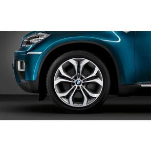 BMW Kompletträder Y-Speiche 336 schiefergrau 20 Zoll X5 E70