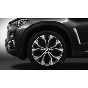 BMW Alufelge Y-Speiche 451 bicolor (ferricgrey/glanzgedreht) 10J x 20 ET 40 Vorderachse X5 F15 X6 F16