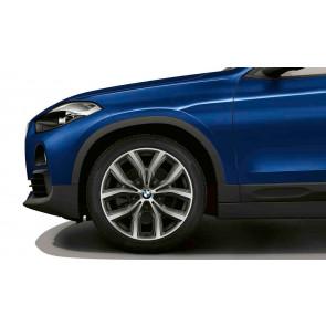 BMW Alufelge Y-Speiche 511 bicolor (orbitgrey / glanzgedreht) 8J x 19 ET 47 19 Zoll Vorderachse / Hinterachse X1 F48 X2 F39
