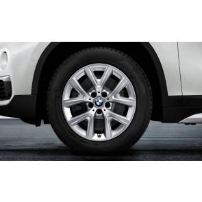 BMW Winterkompletträder Y-Speiche 574 reflexsilber 17 Zoll 2er F45 F46 RDCi