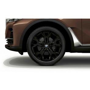 BMW Winterkompletträder Y-Speiche 752 schwarz 21 Zoll X7 G07 RDCi