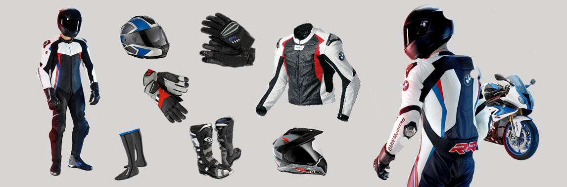 BMW Motorrad Fahrerausstattung